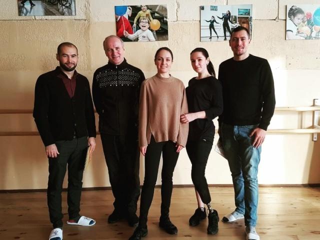 В репетиционном зале Преодолей-ки состоялась встреча с коллегами из Казани.