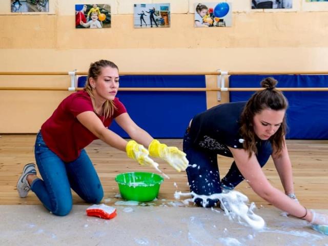 16 мая 2018 года в нашем репетиционном зале на Бережковской прошла волонтерская акция, которую мы назвали
